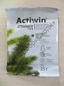 Гранульоване  комплексне мінеральне добриво Активін (Actiwin) тривалої дії з біостимулятором росту для хвої та вічнозелених рослин.