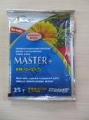 Комплексне мінеральне добриво Мастер плюс 13+40+13, із значним вмістом Фосфору для формування кореневої системи та підвищення врожайності
