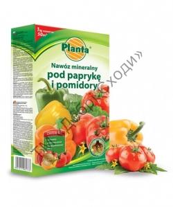 Добриво Planta для томатів та перців в гранулах, 1 кг