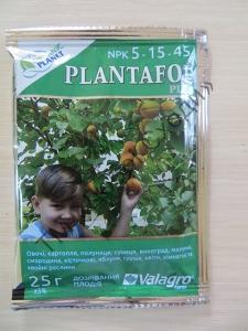 Плантафол (Plantafol) NPK 10.54.10, цвітіння та бутонізація