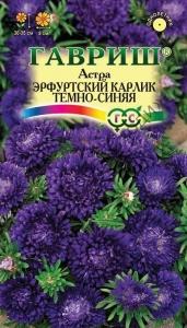 Астра Эрф. карлик темно-синя 0,3 г