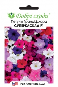 Петунія Грандіфлора Суперкаскад F1, рожева