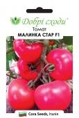 Смачний, рожевий крупноплідний томат.