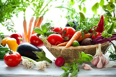 Свіжі овочі